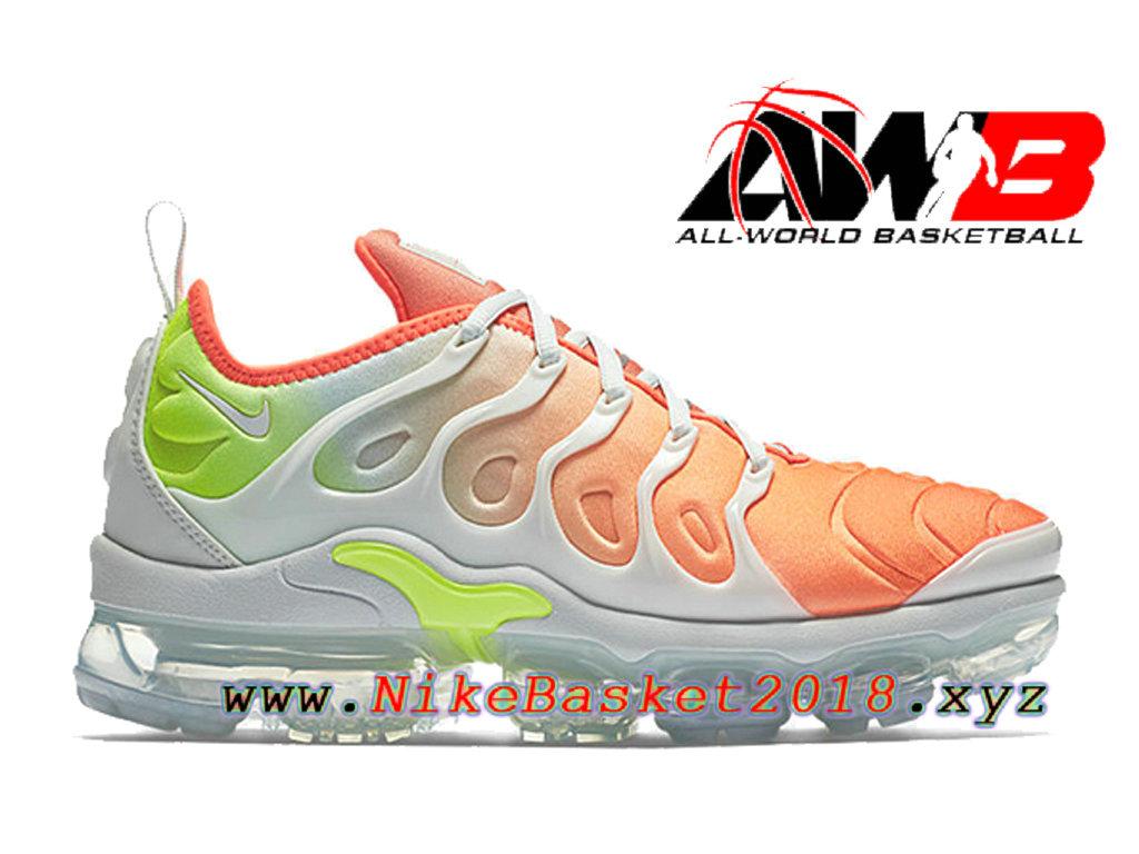 Chaussures Nike 2018 Pas Cher Pour Homme Nike Air VaporMax Plus Orange Blanc AO4550 003 1804061058 Nike Site Officiel | Boutique de Chaussures de