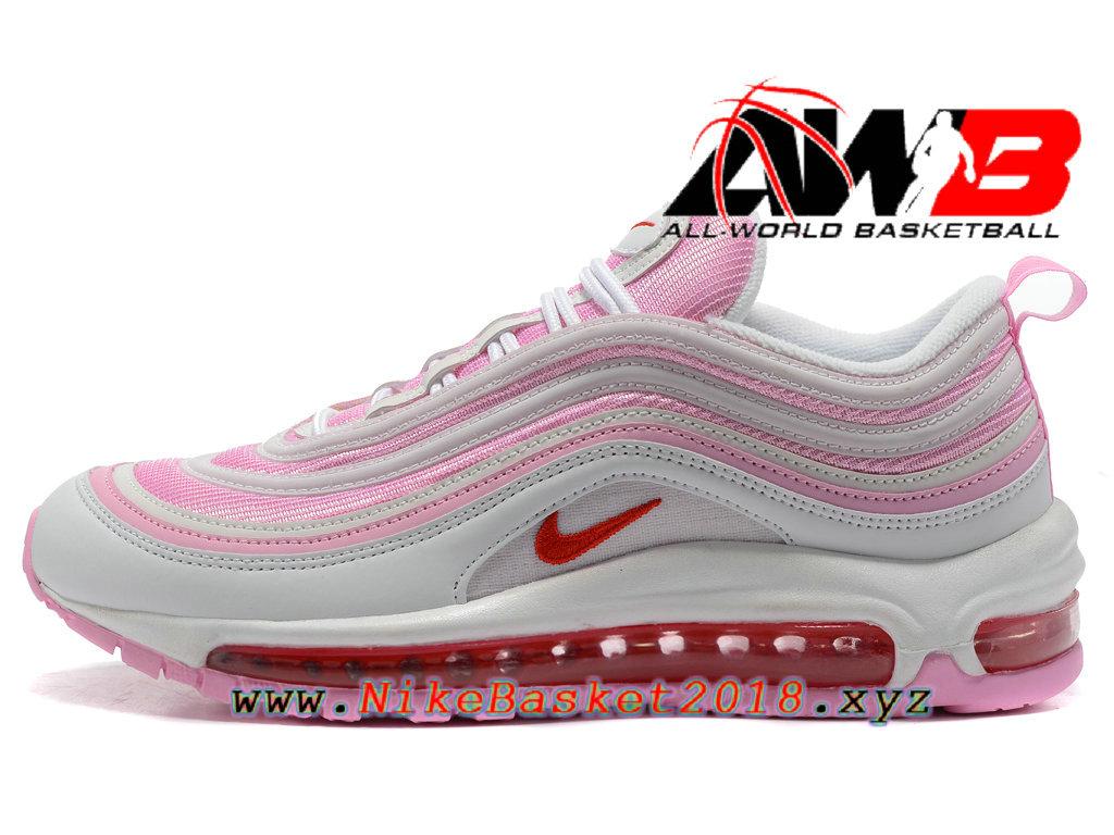 Chaussures Nike Prix Pas Cher Pour FemmeEnfant Nike Air Max 97 Rose Blanc 1801240687 Nike Site Officiel | Boutique de Chaussures de Basketball!